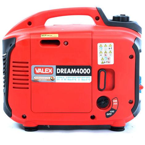 Groupe électrogène inverter silencieux VALEX DREAM 4000 1371818- 2 Kw