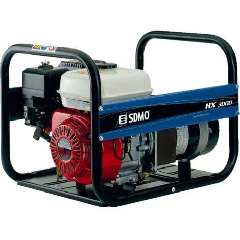 Groupe électrogène monophasé essence SDMO HX3000 Intens 3000 W - HX3000 - -