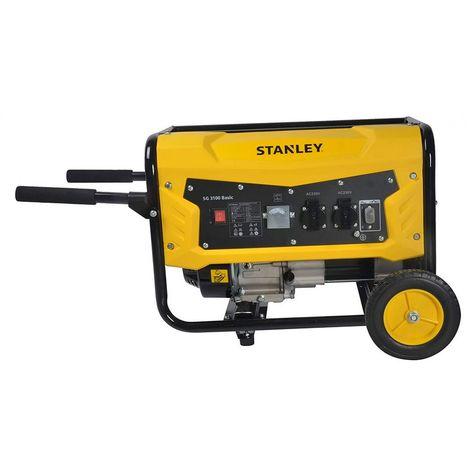 Groupe electrogène STANLEY SG3100 7 CV moteur 4T- 212 cm3 - 3240 tr / min.