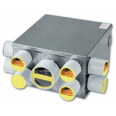Groupe VMC Aerogem N - simple flux autoréglable - 66/150W - 8 sanitaires - Spécial grande maison - Caisson seul