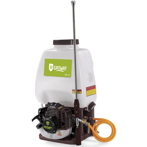 Groway GAT25 - Atomizador con motor gasolina de 25.4 cc, depósito de 20 L