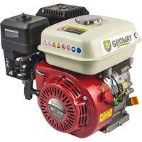 Groway MT-200S - Motor a gasolina 4T OHV de 196 cc, 6.5 Hp, eje 50 x 20 mm