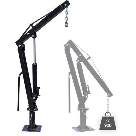 Gru di sollevamento max 900 kg rotabile a 360° Gru di carico per pick-up