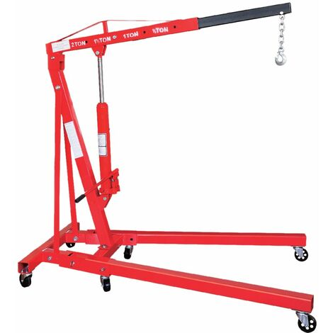 Grua Hidráulica, 2T, Plegable - MADER®   Power Tools