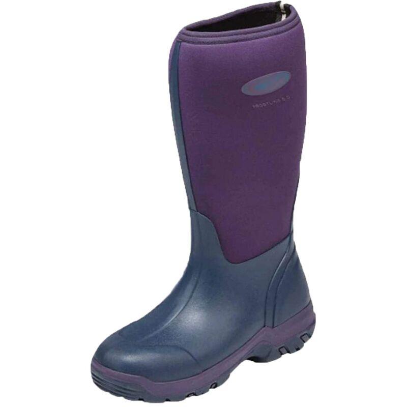 Image of Grubs Womens/Ladies Frostline Boots (3 UK) (Violet)