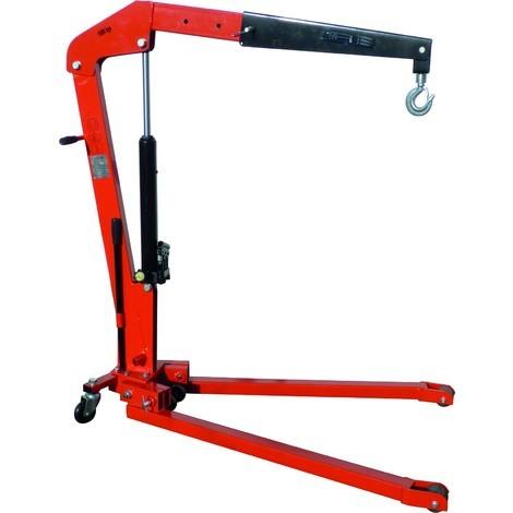 Grue d atelier pliante 1000 kg hauteur maxi 2300 mm - S13078