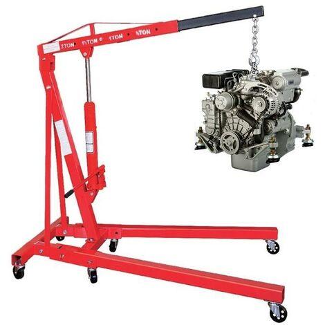 Grue d'atelier hydraulique pliable 2000 kg T4