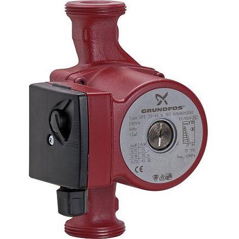 Grundfos Pompe d'eau sanitaire UPS 25/40 N 180 mm modele remplacant le modele B