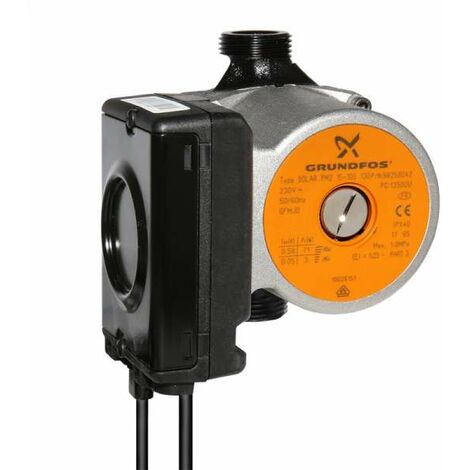 Grundfos Solar UPM2 15-105 130mm Solarpumpe Hocheffizienzpumpe mit PWM Signal modulierend EuP ready