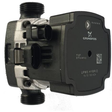 Grundfos UPM3 Hybrid 15-70 BL130 Umwälzpumpe, Heizungspumpe Effizienzklasse A ohne