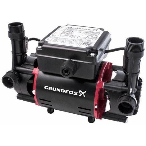 Grundfos Watermill Shower Pump STR2 2.0C Twin Impeller Positive
