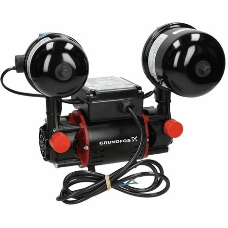 Grundfos Watermill STR2 Shower Pump 2.0CN Twin Impeller Negative