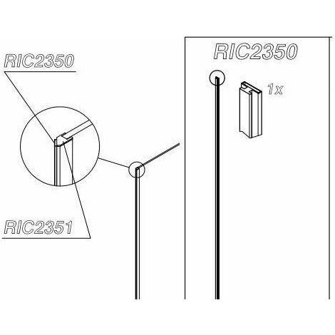 "main image of ""Grupo de juntas magnéticas para POLARIS DESIGN Samo RIC2350   junta"""