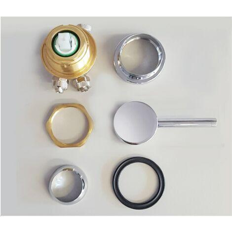 Grupo mezclador solar de aluminio ARKEMA DESIGN - prodotto made in Italy RAD8030