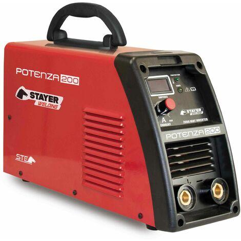 Grupo Sold Inverter 200amp/60% 4,0mm Stayer