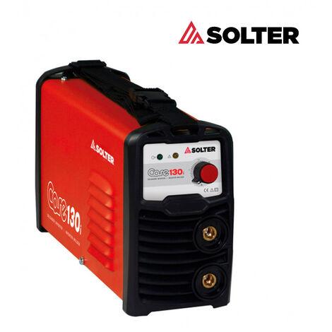 Grupo Soldar Inverter 130A/35% - SOLTER - CORE130-I