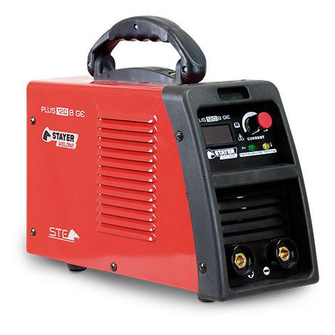Grupo Soldar Inverter + Accesorios 120A/30% - STAYER - Plus 120C Gek