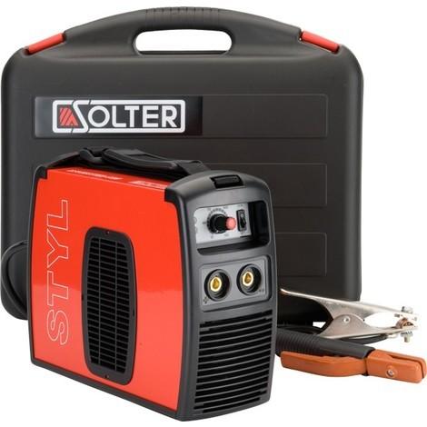 Grupo Soldar Inverter + Accesorios 160A/50% - SOLTER - Styl 1850