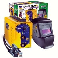 GRUPO SOLDAR INVERTER MMA PACK GYSMI 160P + LCD TECHNO 11 GYS