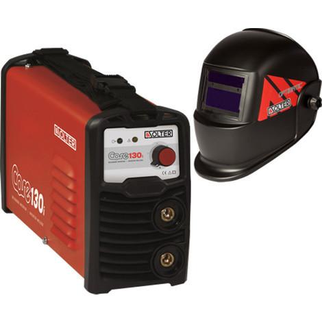 Grupo Soldar Inverter+Pantalla 130A/35% - SOLTER - K0201 CORE130I