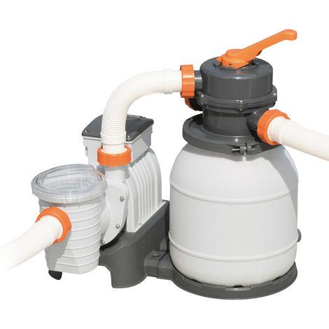 Depuratore Per Piscina.Pompa Filtro A Sabbia 5 678 L H Per Piscina Fuoriterra