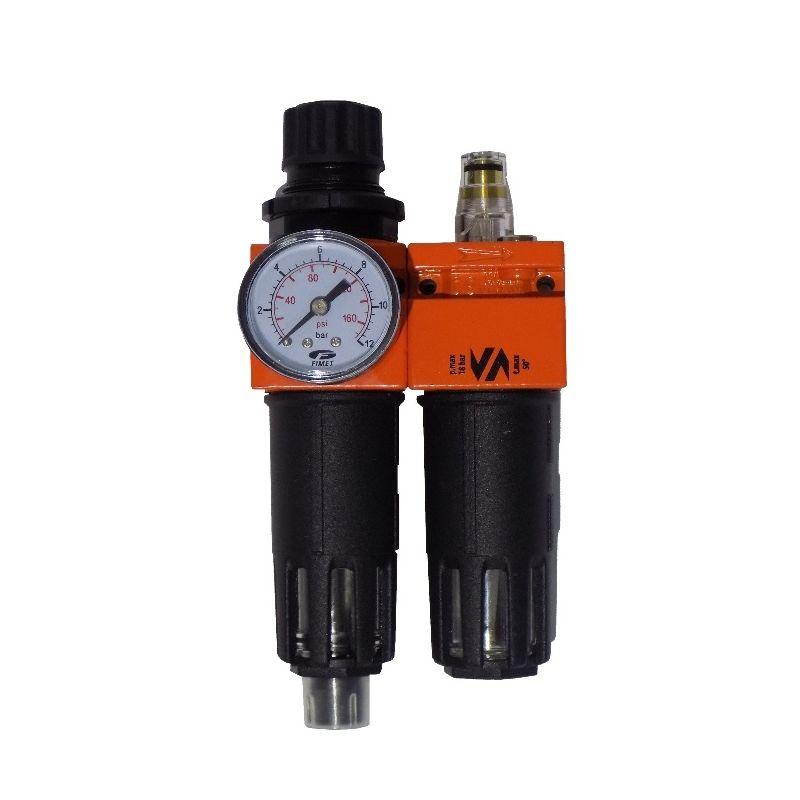 Broco Regolatore di pressione filtro BSP 1//2Regolatore filtro aria con attacco Montaggio Compressore Umidit/à trappola Lubrificatore acqua olio per compressore e utensili pneumatici