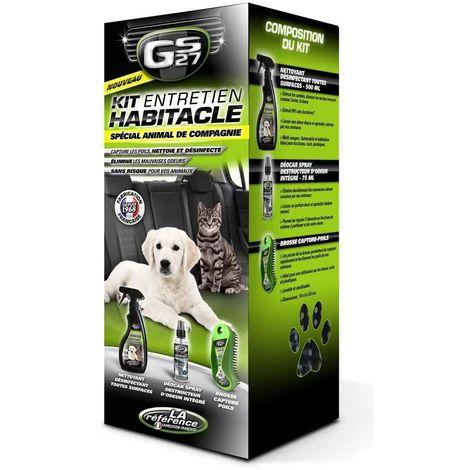 Gs27 - Kit Entretien Habitacle pour Animal de Compagnie