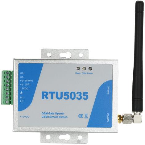 GSM / 2G puerta de la puerta apertura a distancia de encendido / apagado llamamos gratis SMS Apoyo al Mando 850/900/1800 / 1900MHz