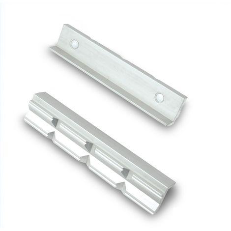GSR Schonbacken Aluminium/Prismen, mit Magnet 100, 125, 150 mm