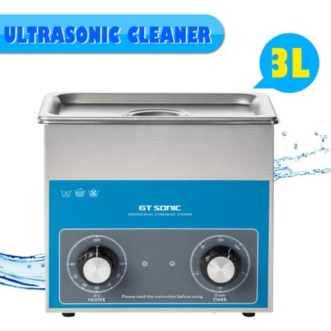 GT Sonic VGT - 1730QT UK 3L Ultrasonic Cleaner
