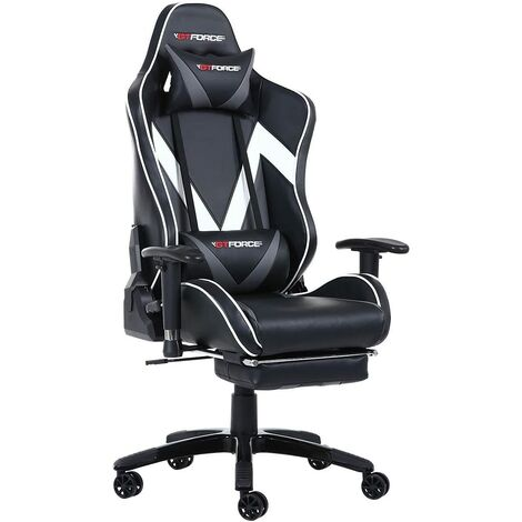 GTFORCE FORMULA LEATHER RACING SPORTS OFFICE CHAIR - different colors available
