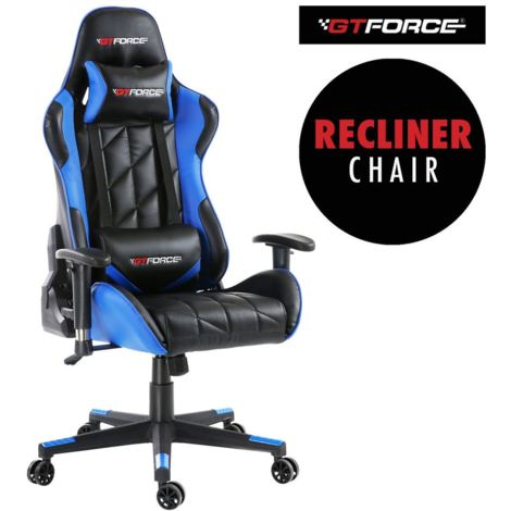 GTFORCE PRO GT LEATHER RACING SPORTS OFFICE CHAIR - different colors available