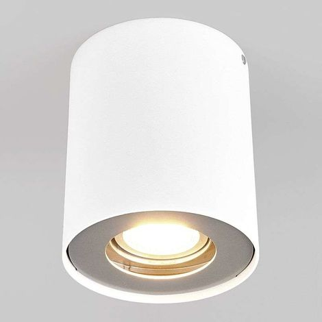 GU10 downlight LED Giliano, 1 luz, redondo, blanco
