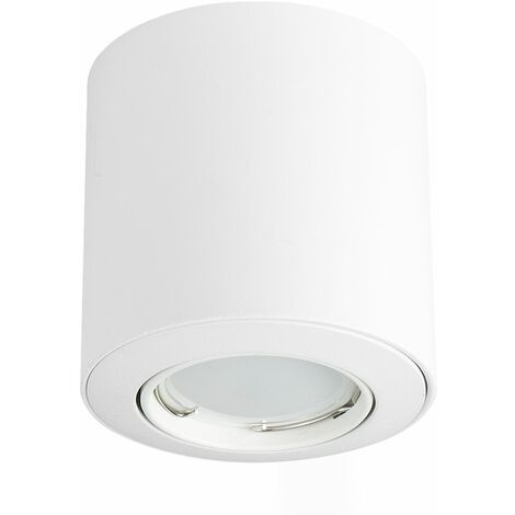Gu10 Tiltable Surface Mounted Ceiling Spotlight Downlight