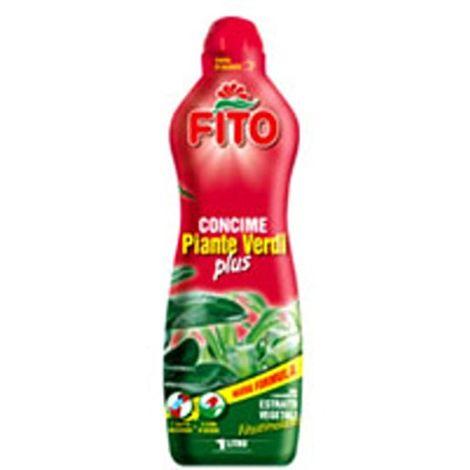 Guaber GA0566100 Concime Piante Verdi Plus, 1000 ml