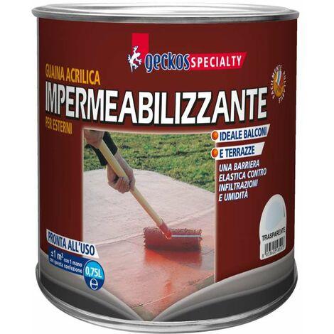 Guaina acrilica 750 ml trasparente
