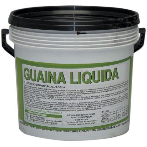 GUAINA LIQUIDA BITUMINOSA NERA KG.18