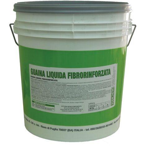 Guaina liquida fibrorinforzata grigia kg.5 - Salone