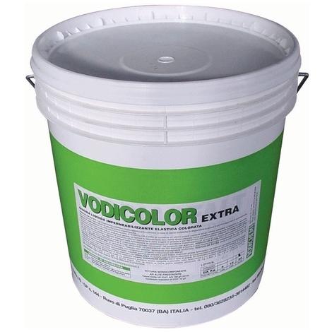Guaina Liquida Impermeabilizzante Vodicolor Extra colore Grigio 5 Kg