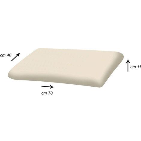 Guanciale Memory Saponetta 70x40 Altezza 11cm
