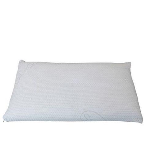 Guanciale Memory Saponetta Tessuto Silver sfoderabile 70x40 Altezza 13cm