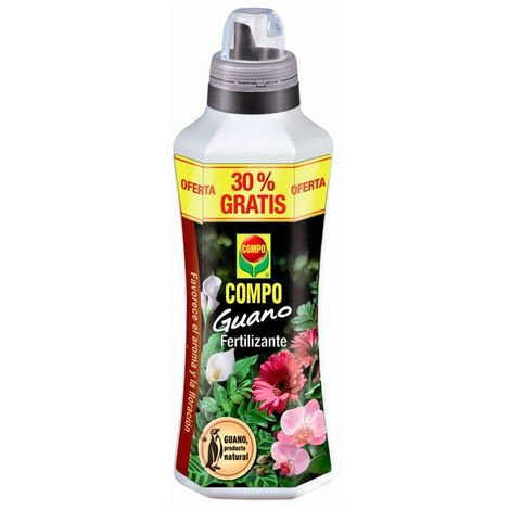 Guano fertilizante líquido 1,3L Compo
