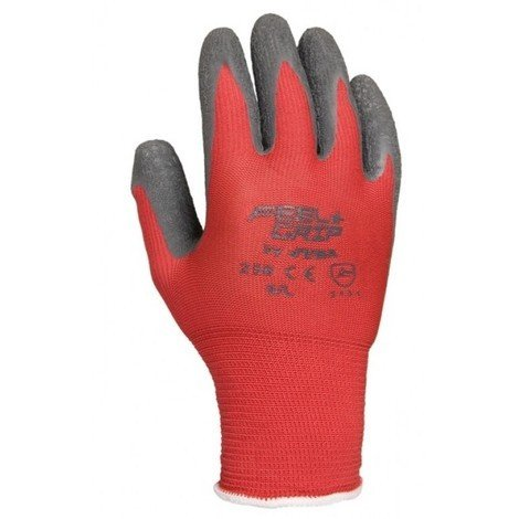 Guante bric l09 p/latex feel&grip poliam ro/gr juba