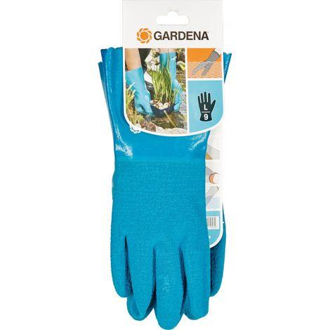 Guante de jardín azul Talla 7/S Gardena