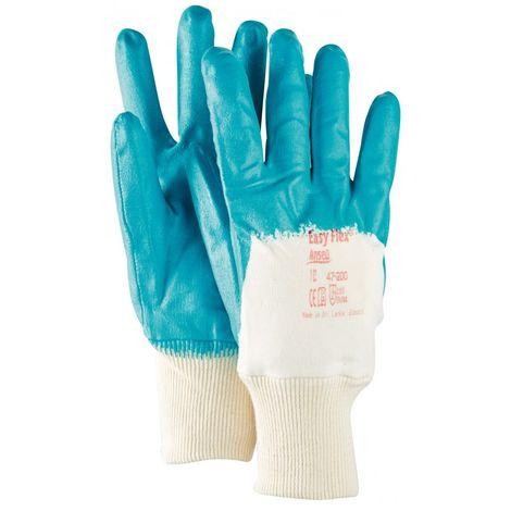Guante de nitrilo -EasyFlex 47-200- T9 (Por 12)