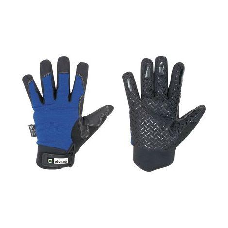 Guante de protección invierno Freezer,Talla 10, negro/azul