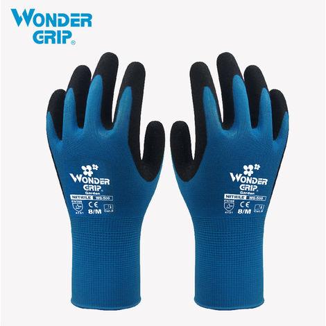 Guante de seguridad para jardineria, a prueba de abrasion,Azul, S
