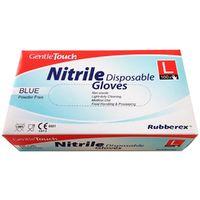 Guante desechable de nitrilo sin polvo