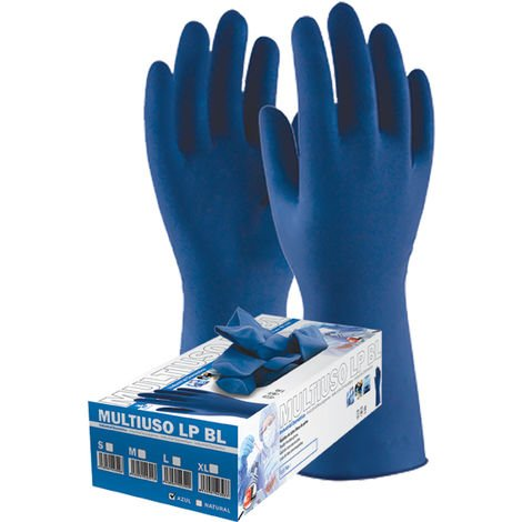 Guante desechable LP Blue 3L T-S 50 Unidades