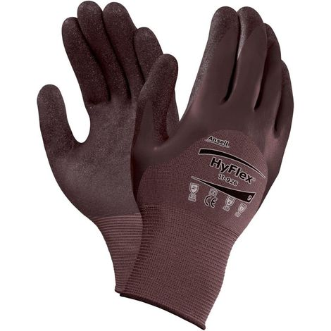 Guante HyFlex 11-926, violeta. 3/4, gr. 7